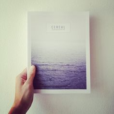 Cereal Magazine (issue 2), now available at the little dröm store.