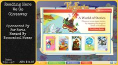 """Deals and Giveaways!: """"Reading Here We Go"""" Giveaway (Worldwide, ARV $14, Ends 8/7)"""