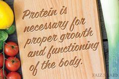 FAIZ SAAID: Protein Bagus Ke ?