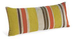 Multistripe Orange Pillow - Pillows - Accessories - Room & Board