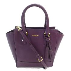 050e8e3d6ded Coach 48894 Legacy Leather Mini Tanner Crossbody Handbag Purple NWT  Coach   MessengerCrossBody Cross Body. Cross Body HandbagsCrochet Shoulder ...