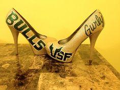 USF Bulls pumps by Get Pumped