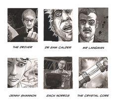 The Weapon, Graphic Novel - Key Players www.ink-pot-graphics.com/bookshelf/