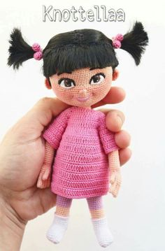 Boo, monsters Inc, doll