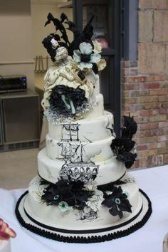 Piratess Cake ~ by Alexandria Pellegrino (Cake Opera Co.) At the Bonnie Gordon Cake Show, 2010. [1st of six pins]