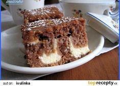 Tvarohové řezy - hrnečkové recept - TopRecepty.cz Tiramisu, Ethnic Recipes, Food, Essen, Meals, Tiramisu Cake, Yemek, Eten