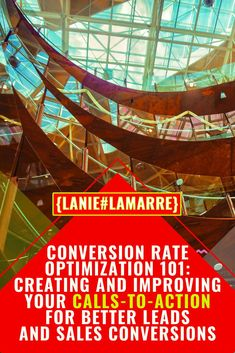 Conversion Rate Optimization - commonly known as CRO - is all about increasing your website traffic conversion to sales. The best way to do that is to improve your call-to-action with button, copywriting, colors and words.Head over to learn more and get some more examples of good CTAs. // Lanie Lamarre - OMGrowth