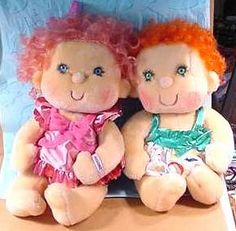 Totally had these freaky toys.  hugga bunch dolls
