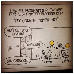 'compiling' ;-)