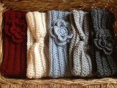 Crocheted head warmer, crochet ear warmer, headband on Etsy, $12.00