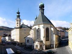 Slovakia, Banská Štiavnica - St. Catherine's Church