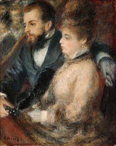 Pierre-Auguste Renoir - In the Loge