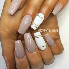 Nail Art Ideas Coffin Nails