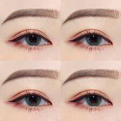 10 Night Out Makeup Ideas That Men Find Irresistible Korean Makeup Look, Asian Eye Makeup, Smokey Eye Makeup, Makeup Inspo, Makeup Inspiration, Makeup Tips, Beauty Makeup, Kawaii Makeup, Cute Makeup