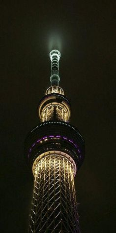 Sacred Torch of Tokyo, Japan Tokyo City, Tokyo Japan, Amazing Architecture, Art And Architecture, Amazing Buildings, Tokyo Skytree, Beau Site, Stunning View, Absolutely Stunning