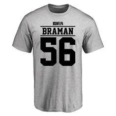 3d93eb130 Bryan Braman Player Issued T-Shirt - Ash