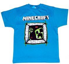 Bluzka dla gracza MINECRAFT'a r.146 PL - NOWOŚĆ