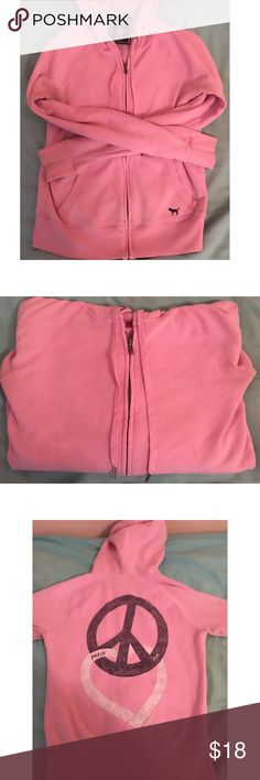 PINK Victoria's Secret Hoodie Pink Hoodie from VS PINK... size xs. Great condition! PINK Victoria's Secret Other