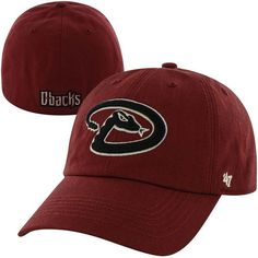 Men's Arizona Diamondbacks '47 Red Game Franchise Fitted Hat, $29.99