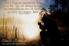 Dios Mío; transforma mis dudas en seguridad. Mis temores en fortalezas... http://katiuskagoldcheidt.com/gracias-dios-todopoderoso/
