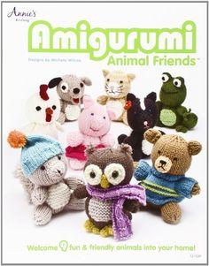 Amigurumi Animal Friends von Michele Wilcox http://www.amazon.de/dp/1592172784/ref=cm_sw_r_pi_dp_2FaVvb0GDEHPP