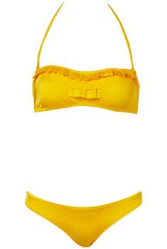 Bikini bandeau Topshop