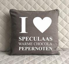 Sinterklaas kussensloop met tekst (grijs) st Bureau Design, Market Baskets, Throw Pillows, Health, Kids, Toss Pillows, Cushions, Health Care, Shopping Carts