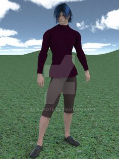 One more test of 3D clothing I created by ibr-remote.deviantart.com on @DeviantArt