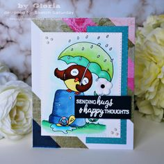 Gloria's craft room: Sending hugs
