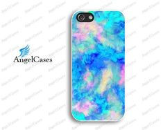 Beautiful marble effect iphone case