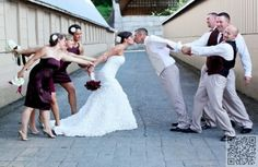 5. #Funny #Photos - 44 Amazing #Wedding #Photography Ideas to Copy ... → Wedding #Great