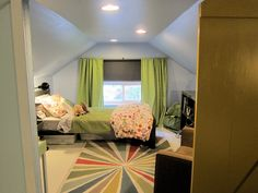 Roan's Room after