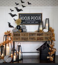Halloween Coloring Sheets, Kirkland Home Decor, Black Bat, Bats, Garland, The Balm, House Ideas, Pumpkin, Furniture