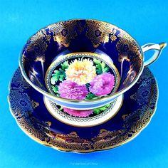 Tea Cup Set, My Cup Of Tea, Cup And Saucer Set, Tea Cup Saucer, Tea Sets, Vintage Cups, China Tea Cups, How To Make Tea, Tea Time