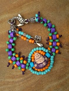 Sapphire Blue AB Glass Beads Blue Beaded Bracelet SALE 7.5 Wide Bracelet Woven Lace Bracelet Cuff One of a Kind Bead Weaving