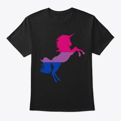 Bisexual Unicorn Pride Flag Lgbtq Pride Products from LGBT Nation Pride Outfit, Bi Memes, Pride Products, Pride Clothing, Lgbtq Flags, Gay Pride Shirts, Paint Shirts, Bisexual Pride, Lgbt Love