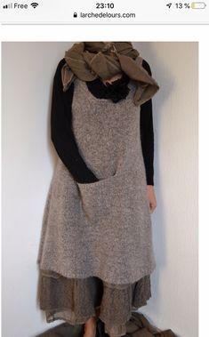 Shabby, Mode Inspiration, Lovely Dresses, Boho Outfits, Boho Fashion, Looks Great, High Neck Dress, Couture, Wool
