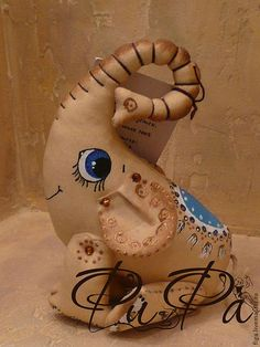 """Игрушки животные, ручной работы. Ярмарка Мастеров - ручная работа. Купить Интерьерная игрушка """"Я притягиваю счастье"""" (продаётся). Handmade."""