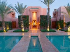 Amanjena - Aman resort in Marrakech, Morocco  Stunning- #F1S