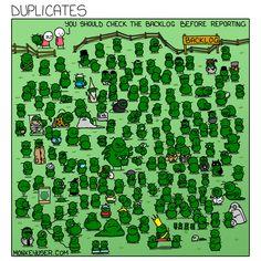 Duplicates Programming Humor, Clash Of Clans, Software Development, Satire, Sarcasm