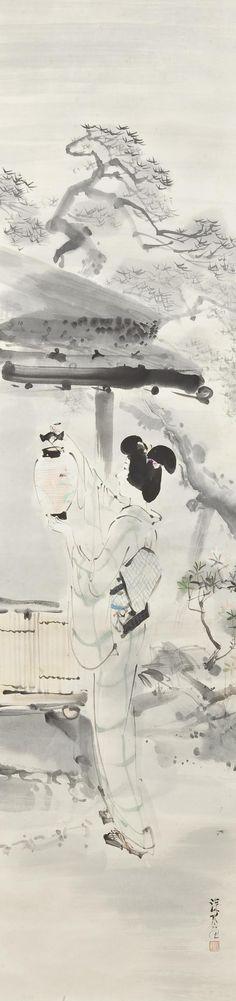 Itô Shinsui, Latern (Toboshi 灯)
