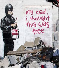 Banksy, Detroit graffiti