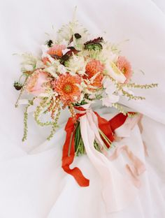 The Best Ever Ribbon Bouquets You Need to See Right Now - Style Me Pretty