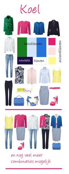 Een kleurenschema voor een uitgekiende garderobe maak je zo  www.lidathiry.nl 