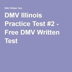 DMV Illinois Practice Test #2 - Free DMV Written Test