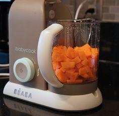 Béaba Babycook: Puréed Sweet Potatoes