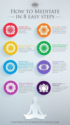Meditate in 8 easy steps