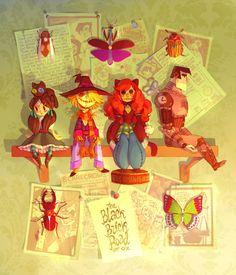 Dolls by *Xamag on deviantART
