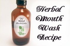 This homemade herbal mouth wash uses herbs like peppermint, cloves, rosemary, plantain and cloves to create a naturally cleansing herbal tincture for oral use.