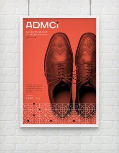 ADMCi - Brand identity design by Eight Hour Day. Minneapolis-based design boutique Eight Hour Day was asked to develop the brand identity design for ADMCi Graphic Design Books, Graphic Design Typography, Graphic Design Inspiration, Book Design, Layout Design, Collateral Design, Brand Identity Design, Album Design, Flyer